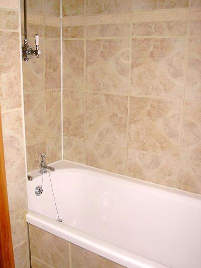 badkamer, ligbad en douche