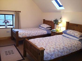 tweebeds kamer
